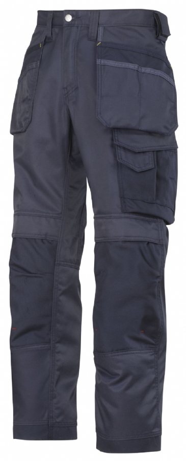 Snickers 3212 DuraTwill Craftsmen Holster Pocket Trousers (Navy)